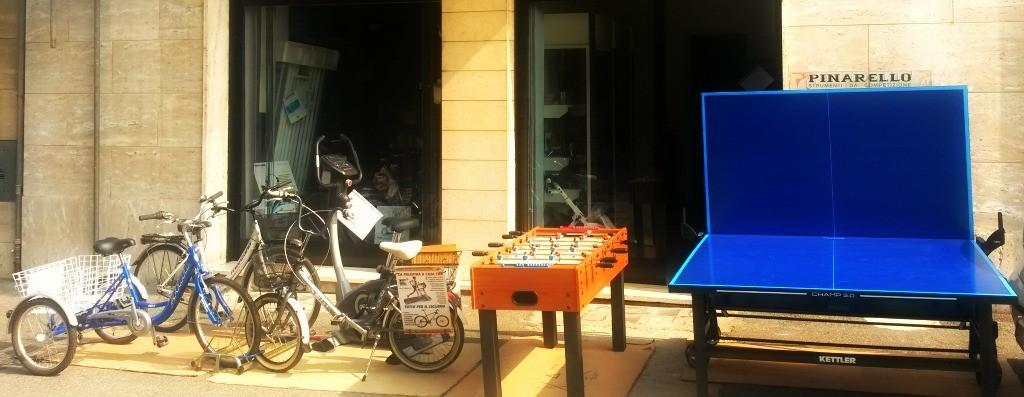 biciclette e attrezzature sportive, vendita ad Acqui Terme