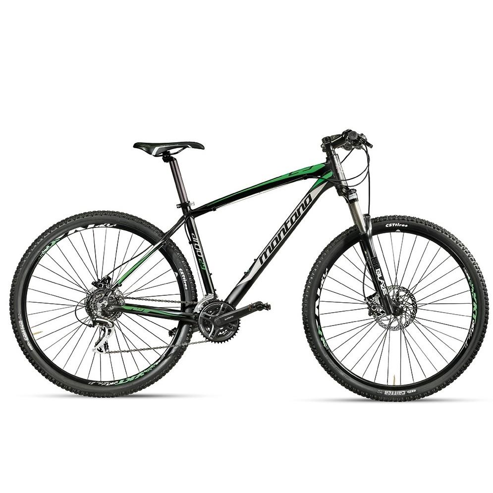 bicicletta argo 29 montana verde