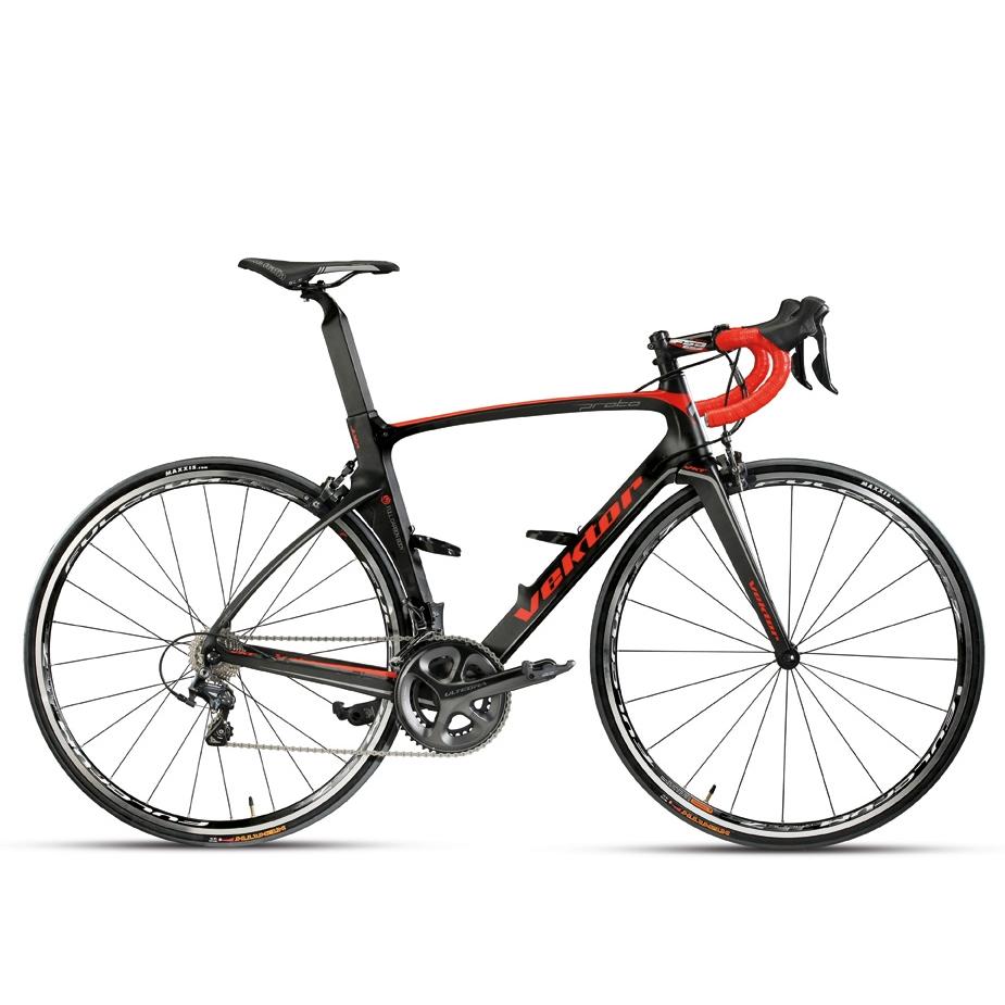 bicicletta-corsa-vektor-proto-shimano-carbonio