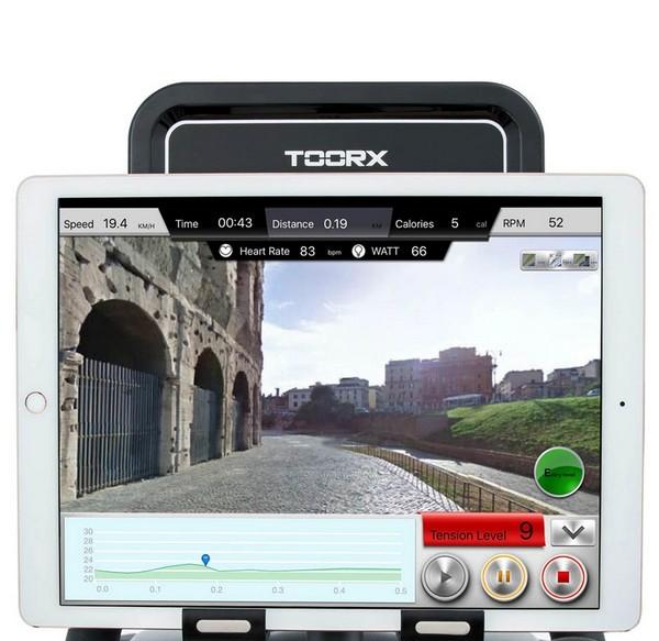 display a colori per bici da camera Toorx