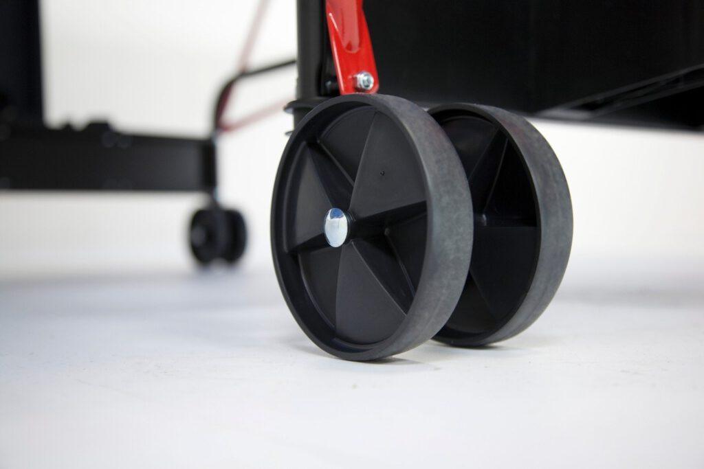 ruote tavolo da ping pong per trasporto